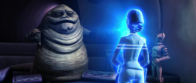 Archivo:Padme talks to Jabba.jpg