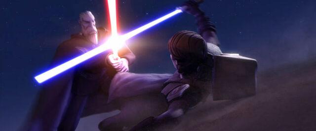 Archivo:AnakinVsDooku Tatooine.jpg