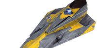 Interceptor ligero Delta-7B clase Aethersprite de Anakin Skywalker