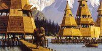 Pueblo de zancos Ewok