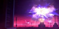Bombardeo en los Generadores de Coruscant