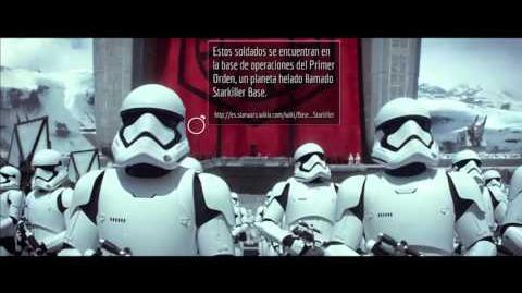Star Wars El Despertar de la Fuerza Teaser 2 Fanotado Español