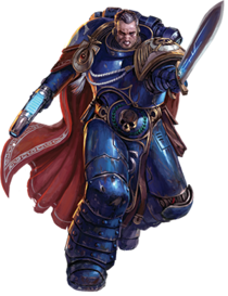 Capitán Cato Sicarius Ultramarines Warhammer 40,000 Conquest