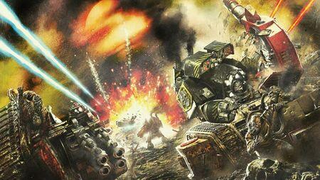 Guerreros de Hierro Invasión de Tallarn Dreadnoughts Contemptor Ejército Imperial Devorador de Vida.jpg