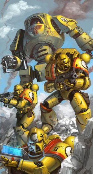 Puños Imperiales Escuadra Táctica Dreadnought Contemptor.jpg