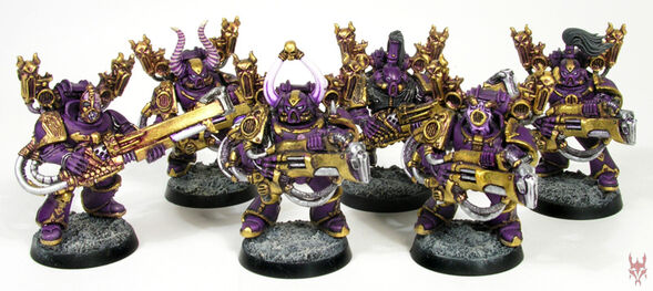 Slaanesh marines