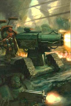 Cañón Tormenta Salamandras Marines Espaciales Warhammer 40k Wikihammer.png