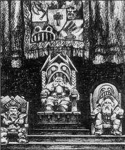 Señor Caudillo Señor Ancestro Squats 1ª Edición Paul Bonner ilustración.jpg