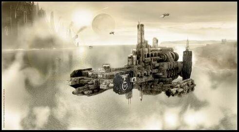 Crucero de Asalto Marines Espaciales Wikihammer