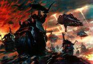 Motocicletas Ala Cuervo Ángeles Oscuros Warhammer 40k Wikihammer