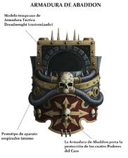 Armadura de Abaddon