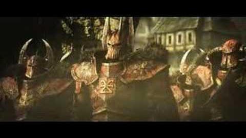 Warhammer Battle March Cinematic Intro Trailer