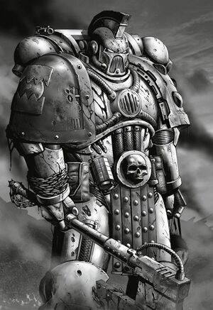 Khârn el Sangriento Capitán Palafrenero Devoradores de Mundos Gran Cruzada.jpg