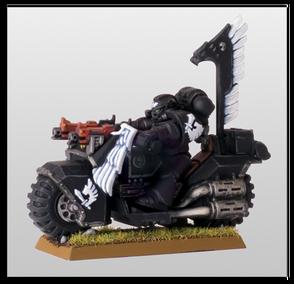 Motocicleta Ala del Cuervo Ángeles Oscuros Warhammer 40k Wikihammer.png