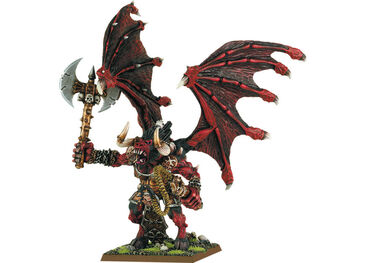 Mini gran demonio de khorne