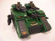 Land Raider Terminus Ultra de los Salamandras