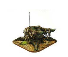 GI plataforma defensiva tarantula cañones laser