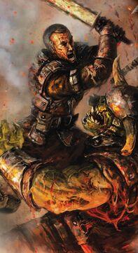 Stormtrooper vs Ork