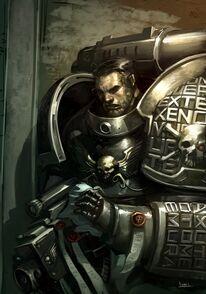 Guardianes de la Muerte Bolter Modelo Acosador Ordo Xenos Wikihammer