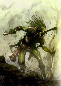 Kroot warrior