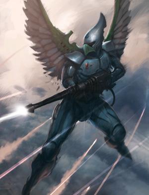 Halcones Cazadores Eldars 6ª Edición ilustración.png