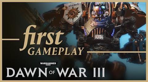 Dawn of War III First Gameplay Footage