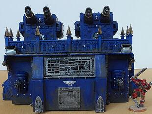Bateria Imperial 55 Wikihammer 40K