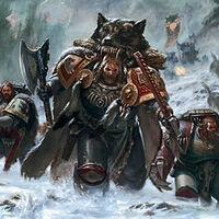 Marines lobos espaciales señor lobo ataque