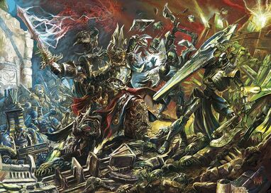 Batalla Mil Hijos vs Necrones