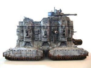 Miniatura leviathan de mando guardia imperial