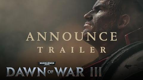 Dawn of War III – Announcement Trailer