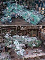 Thunderhawk hangar