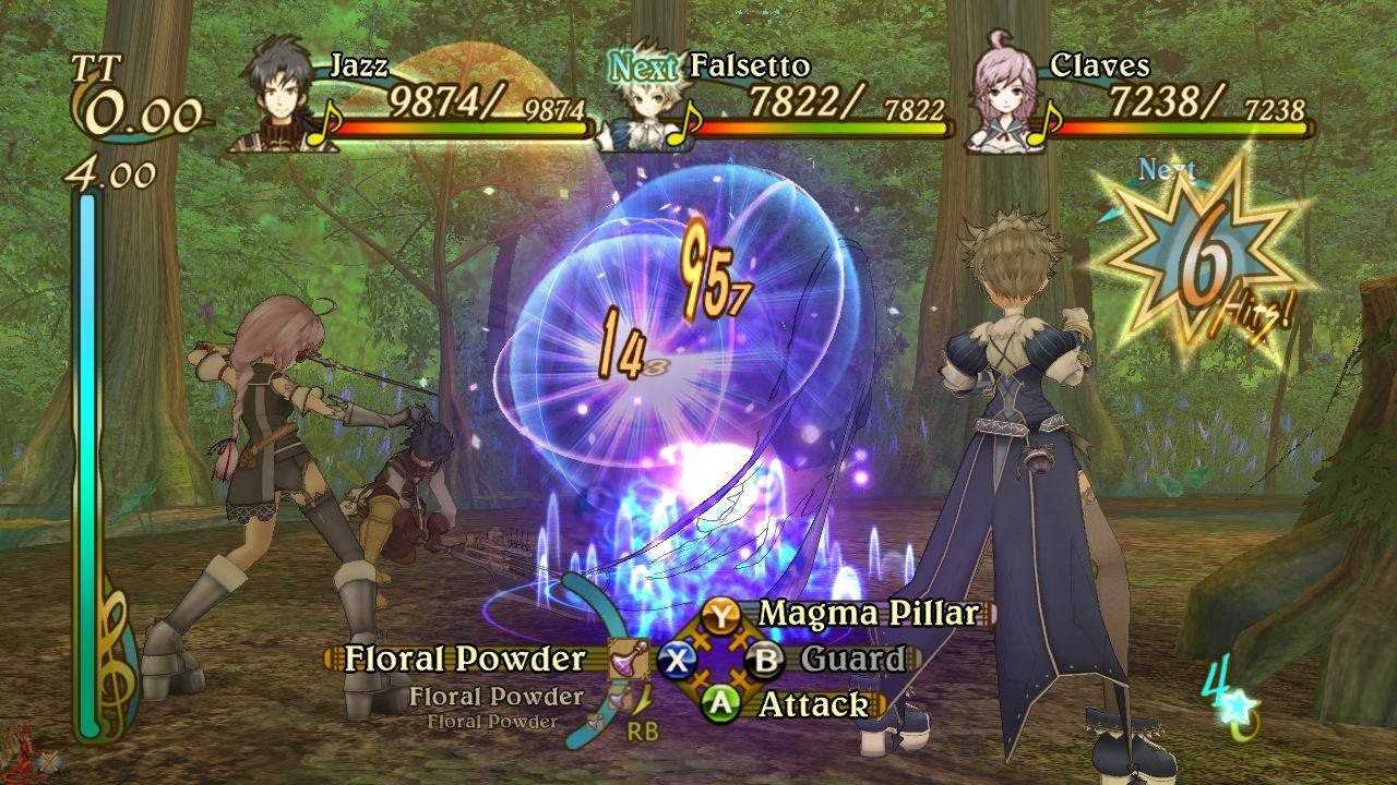 Image result for Eternal Sonata battle system