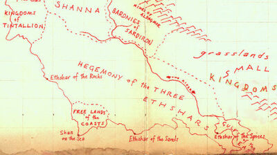 Hegemony map