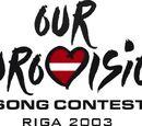 Our Eurovision 2003