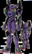 Evangelion Unit 01 (NGE, Sketch)
