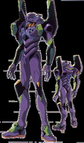 File:Evangelion Unit 01 (NGE, Sketch).png