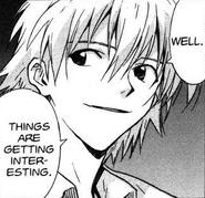 Kaworu thoughts on Arael (Volume 09)