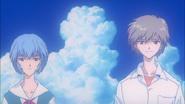 Kaworu and Rei (End of Evangelion)