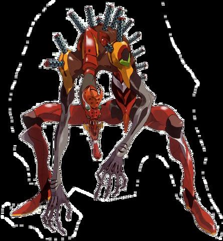 File:Evangelion Unit 02 (Beast Mode).png