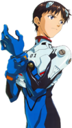 Shinji In Plugsuit (Mugshot)