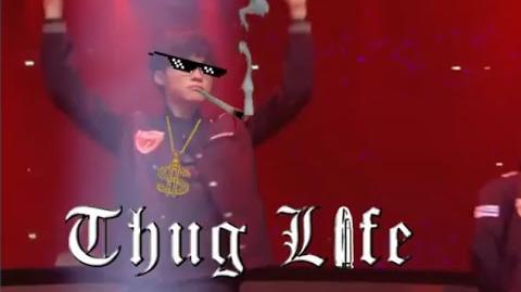 Faker rolling (Thug Life)