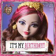 Facebook - Rosabella's birthday