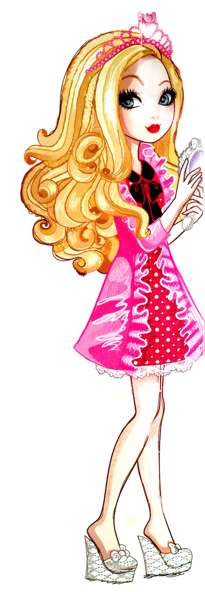 This is an image of Universal Ever After High Characters