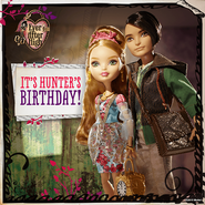 Facebook - happy birthday Hunter