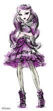 Mattel book art - Raven Queen