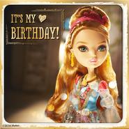 Facebook - Ashlynn's birthday
