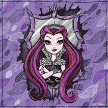 Facebook - Raven Queen Doodle
