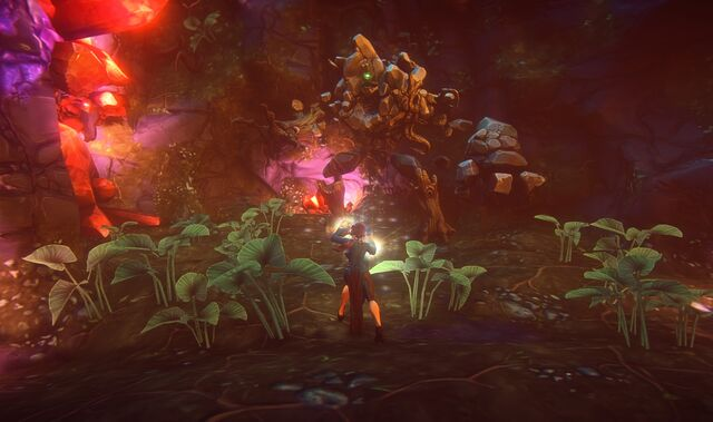 File:Wizard fighting Earth Elemental in underground cavern.jpg