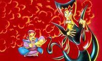 Abis Mal with Jafar & his Lamp